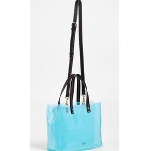 Frances Valentine Bag in Blue. NWT. Retail- $200
